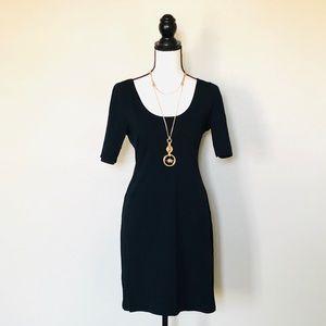 Xhilaration blk mini sexy fitted dress